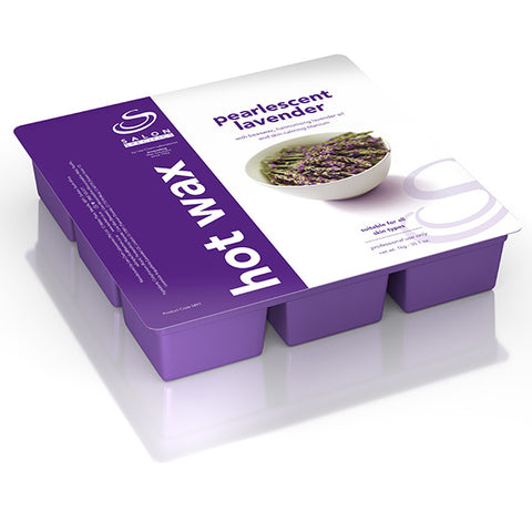 Lavender Pearl Hot Wax (low temp.) 1kg