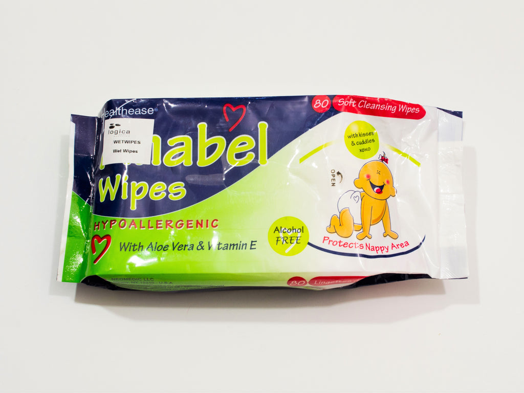 Wet wipes 80's