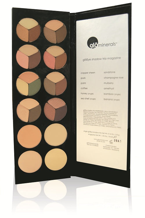 GloMinerals Trio Eyeshadow Magazine