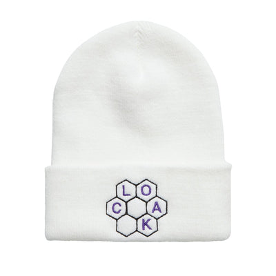 PS THE BEES CUFF BEANIE WHITE Beanie PS PROGRAM SPRUNG