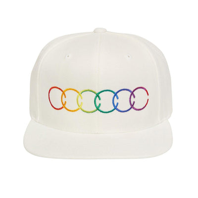 LC COLOURS HAT WHITE HAT LC