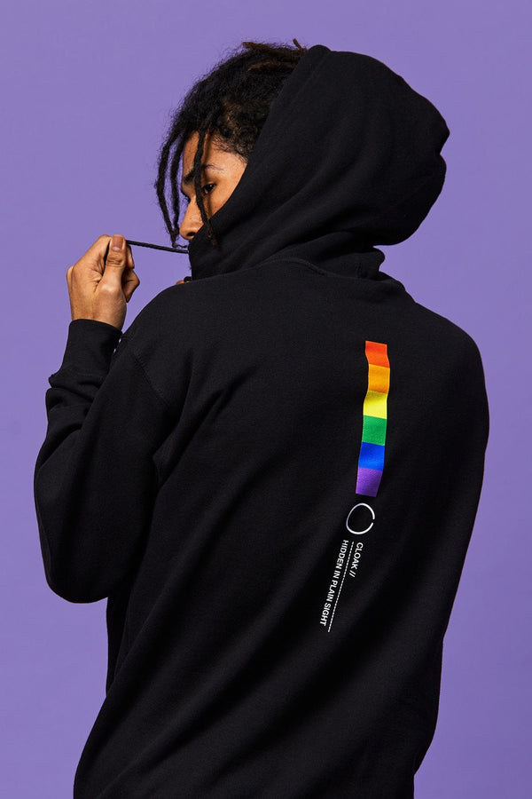 Cloak Colours Hoodie - Black