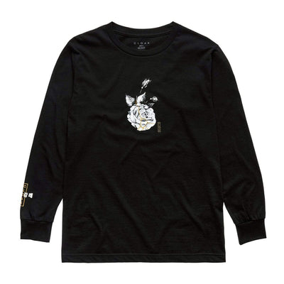 KS SUMI ROSE LS TEE BLACK Tee KS KINTSUGI