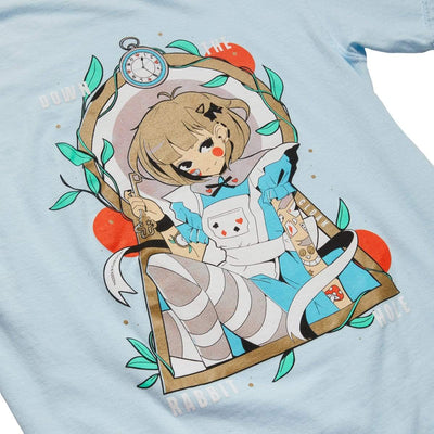 WL ALICE TEE LIGHT BLUE Tee Wonderland