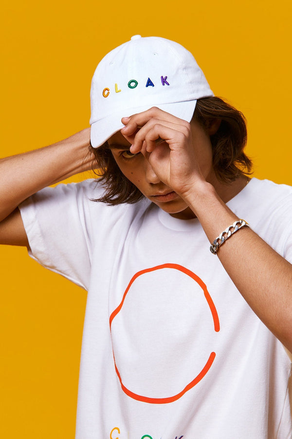 Cloak Colours Tee - White