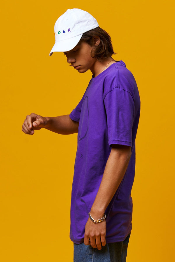 Clear Logo Tee - Purple