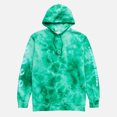 LYM NO 3 HOODIE EMERALD CRYSTAL CLOAK LYM