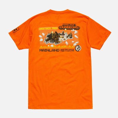 MC MAP TEE ORANGE TEE MC