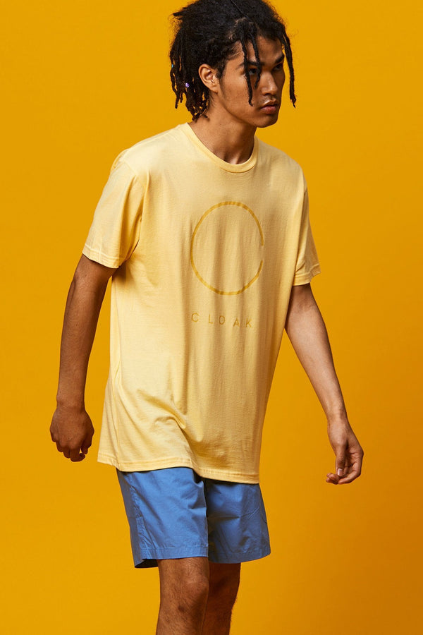 Clear Logo Tee - Yelllow