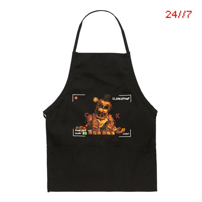 FNaF NOTHING GOLD APRON BLACK Apron FNaF2
