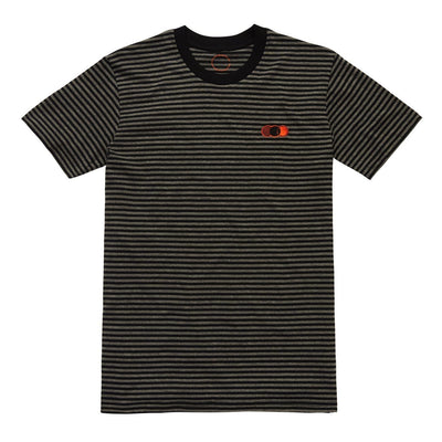 OT STRIATION TEE STRIPE Tee OUT THERE