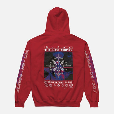 NM BETWEEN THE LINES HOODIE RED