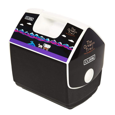 TOT TRAIL IGLOO COOLER BLACK COOLER TOT