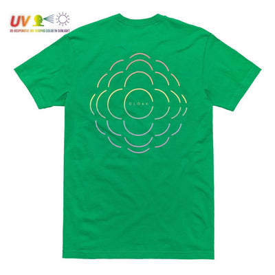 LC COLOURS TEE GREEN TEE LC