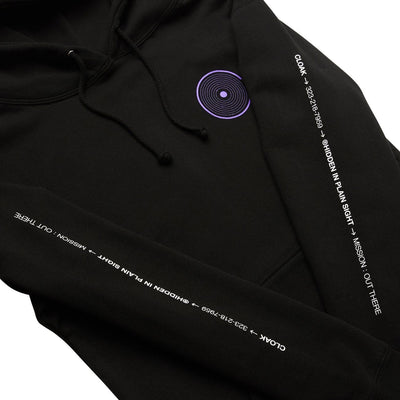 OT APOLLO 11 HOODIE BLACK Hoodie OUT THERE