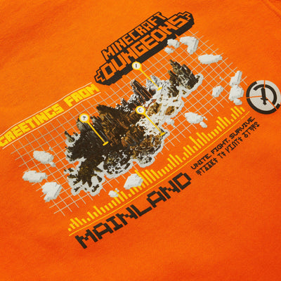 MC MAP HOODIE ORANGE HOODIE MC