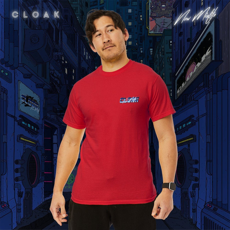 NM CHROMIUM TEE RED