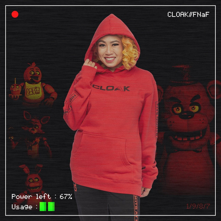 FNaF MOST WANTED HOODIE RED Hoodie FNaF2