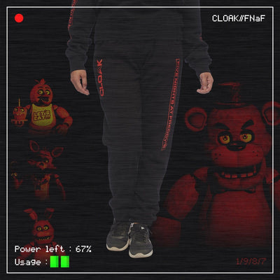 FNaF MOST WANTED JOGGER BLACK Jogger FNaF2