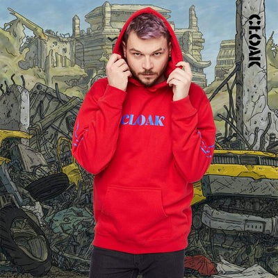 AM DOG DAYS HOODIE RED Hoodie AM