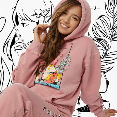 SLS LOVESTRUCK HOODIE ROSE Hoodie SLS Self Love Story