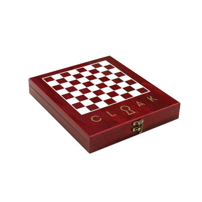 WL ALICE CHESS SET ROSEWOOD Chess Set Wonderland
