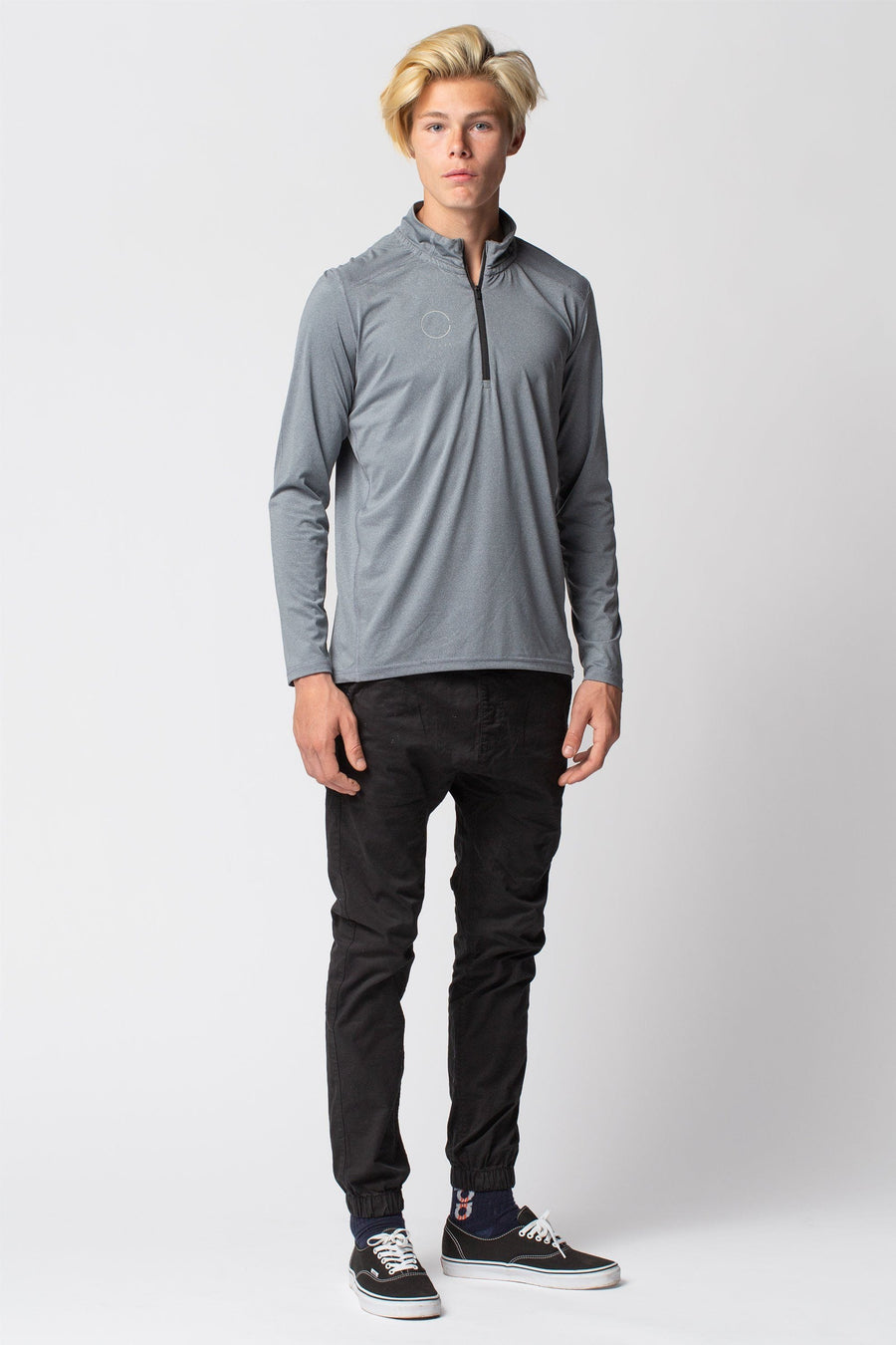 Cloud Tech Quarter Zip Long Sleeve