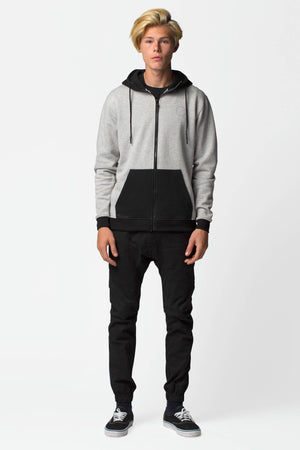 Block Shop Zip Up Hoodie