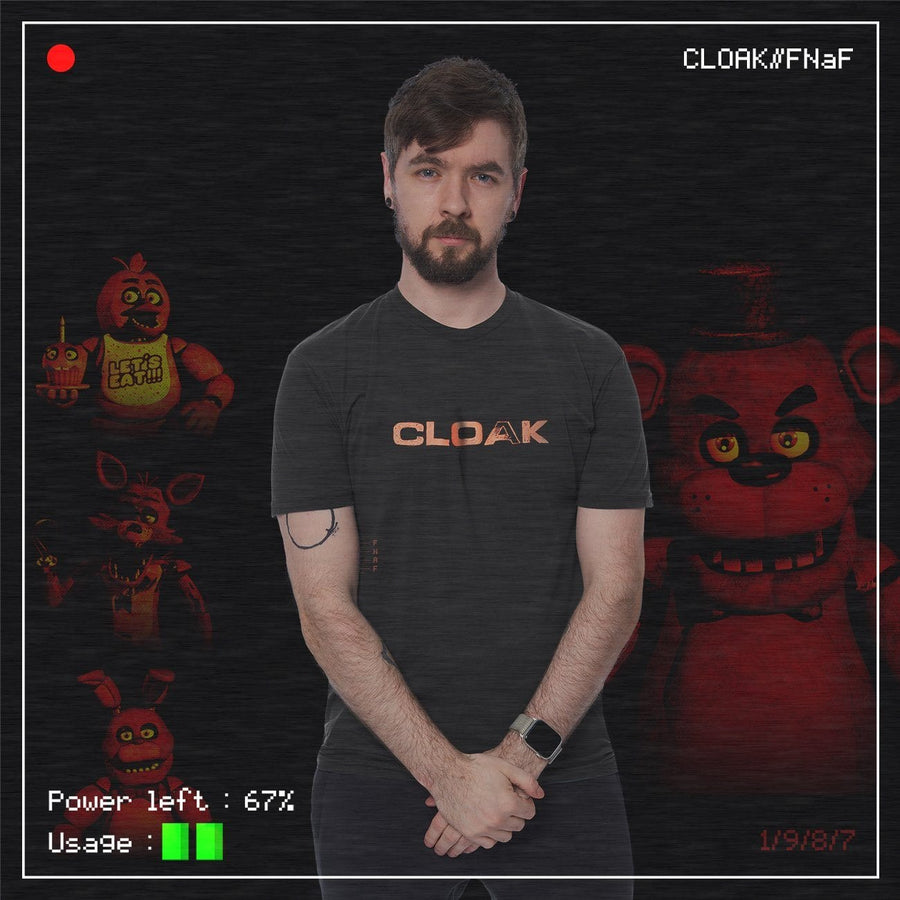 FNaF MOST WANTED TEE BLACK Tee FNaF2