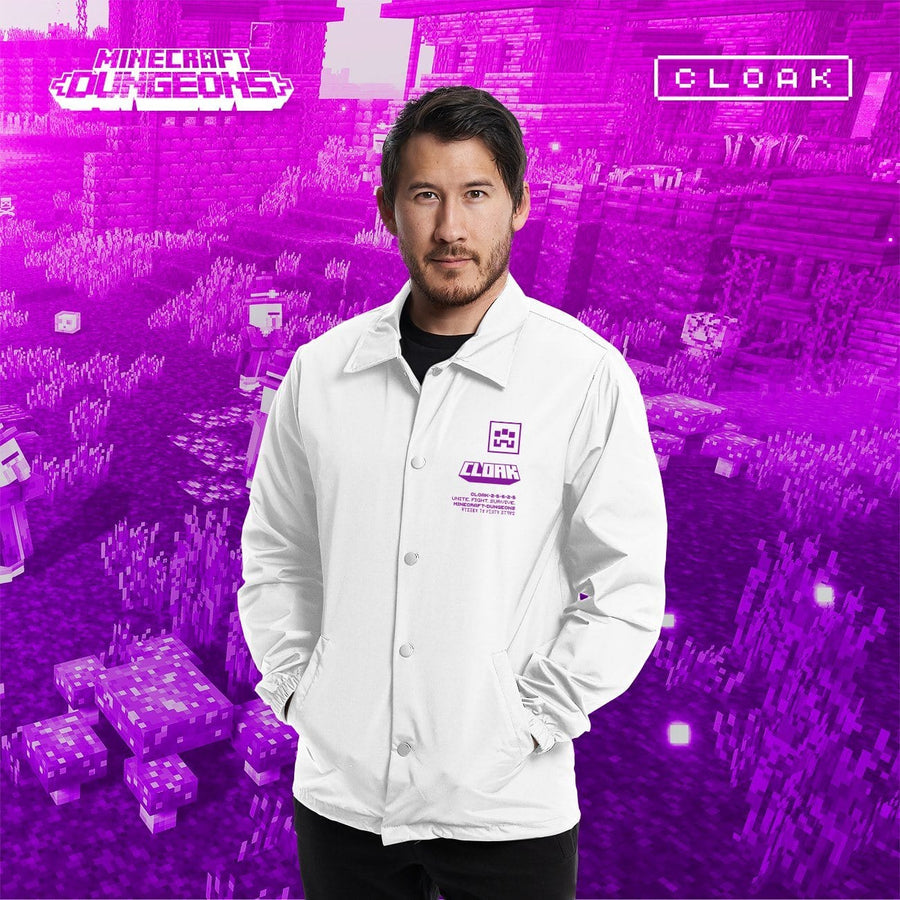 MC DUNGEONS JACKET WHITE JACKET MC