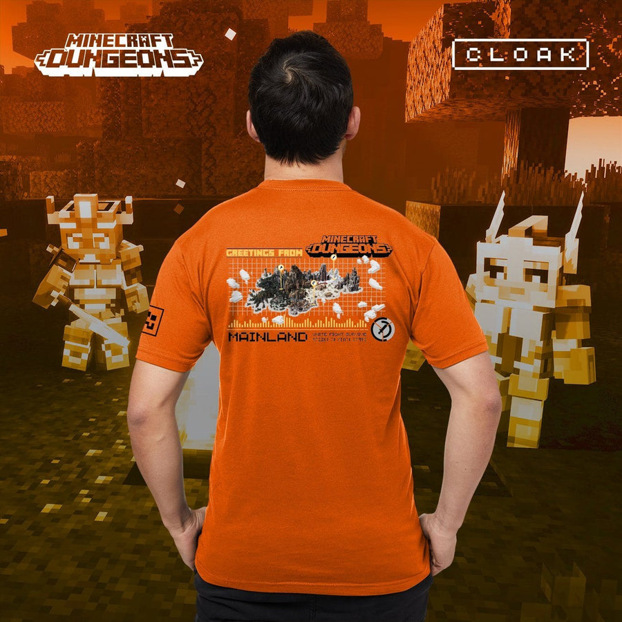 MC MAP TEE ORANGE