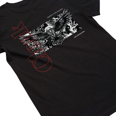 NM RAVEN TEE BLACK Tee NEVERMORE