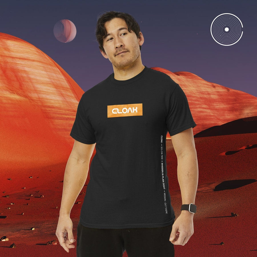 OT COSMONAUT TEE BLACK Tee OUT THERE