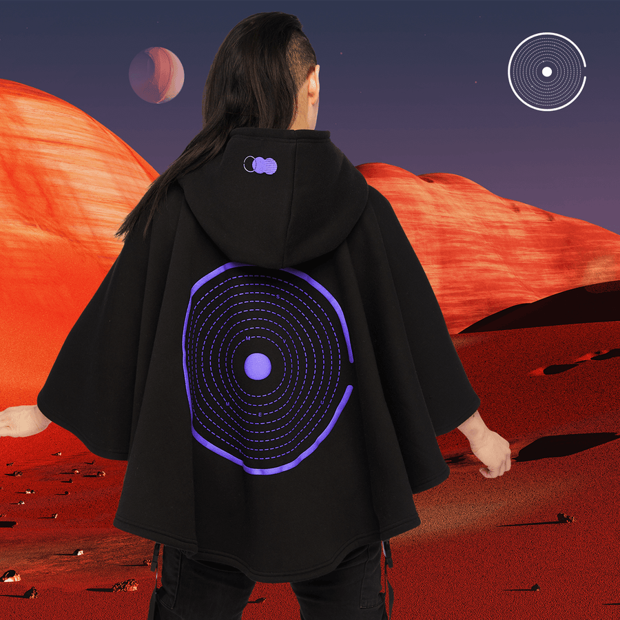 OT MISSION CLOAK MIDI BLACK Cloak Midi OUT THERE