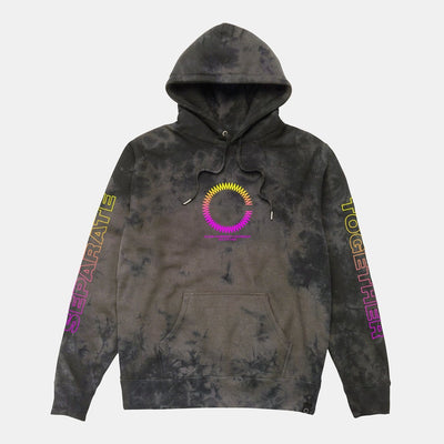 ST CONNECTED HOODIE BLACK CRYSTAL CLOAK ST