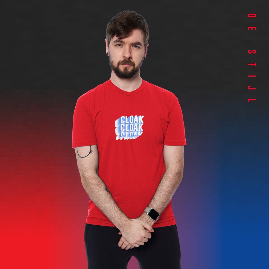 DESTIJL TEE RED Tee DS