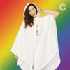 CS CHARGED CLOAK WHITE Cloak COLOUR STRUCK