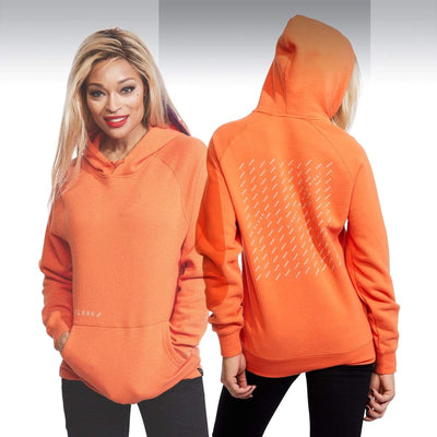 SM ASTERISK HOODIE ORANGE Hoodie SM Stealth Mode