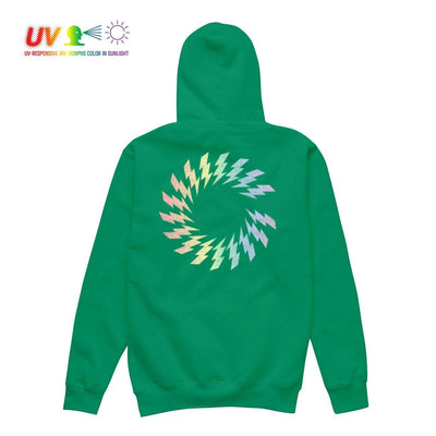 CS CHARGED UV HOODIE GREEN Hoodie COLOUR STRUCK