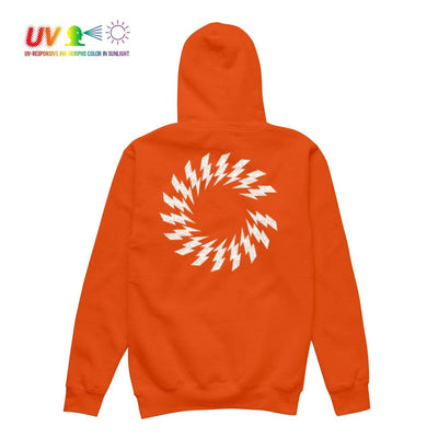 CS CHARGED UV HOODIE ORANGE Hoodie COLOUR STRUCK