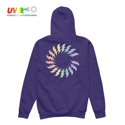 CS CHARGED UV HOODIE PURPLE Hoodie COLOUR STRUCK
