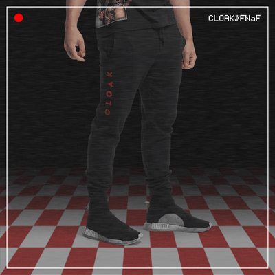 FNaF PARTY JOGGER BLACK CLOAK FNaF