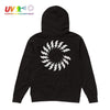 CS CHARGED UV HOODIE BLACK Hoodie COLOUR STRUCK
