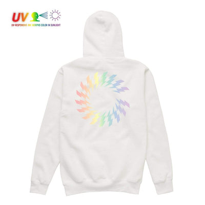 CS CHARGED UV HOODIE WHITE Hoodie COLOUR STRUCK