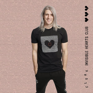 IHC Heartcoded Tee Black