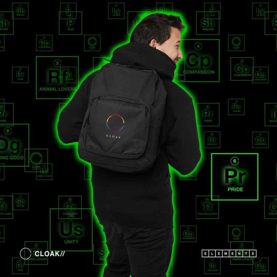 ELEMENTS PRIDE BACKPACK Cloak-Elements