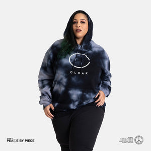Peace by Piece Big C Hoodie Stormy
