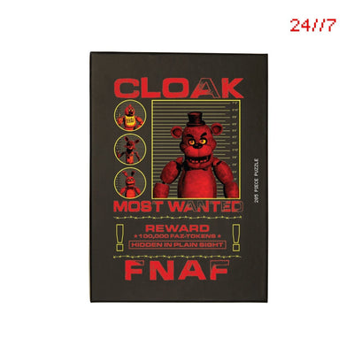 FNaF MOST WANTED PUZZLE BLACK Puzzle FNaF2