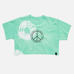 Peace by Piece Geo Crop Dye