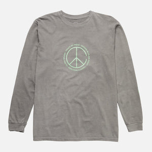 Peace by Piece Peace L/S Tee Black